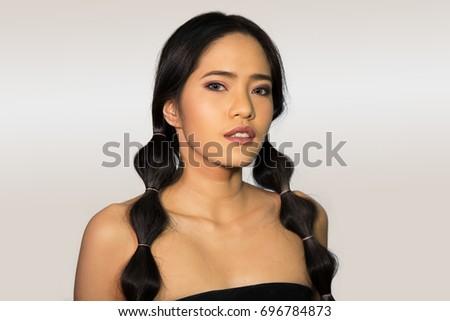 Sorry, asian girl one eye variant