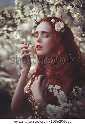 Free Photos Portrait Of A Beautiful Elf With Long Hair Avopix Com