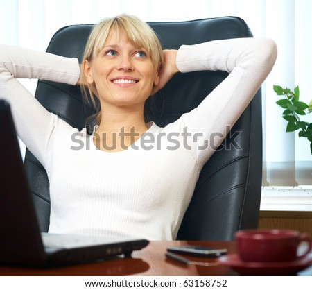 Portrait of a beautiful young successful businesswoman in the workplace