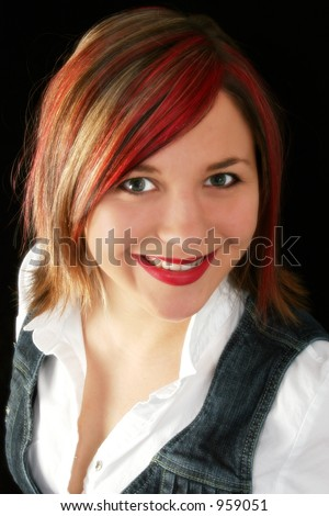 Hair Color Red Blonde. reddish brown hair color with
