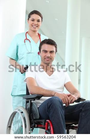 Portrait of a caregiver