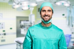Portrait of a confident surgeon