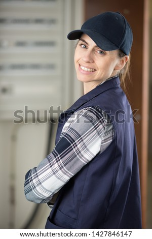 portrait of a female manual worker