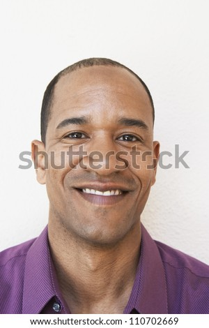 Portrait of a happy African American man
