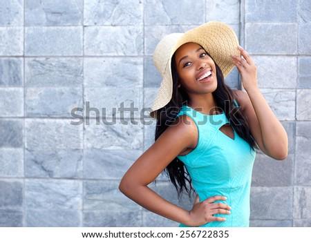 portrait of a happy smiling...