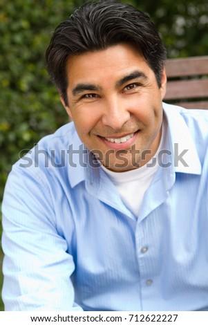 Portrait of a Hispnaic man. #712622227