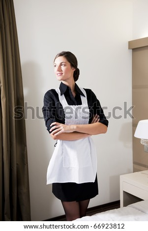Portrait Of A Hotel Maid