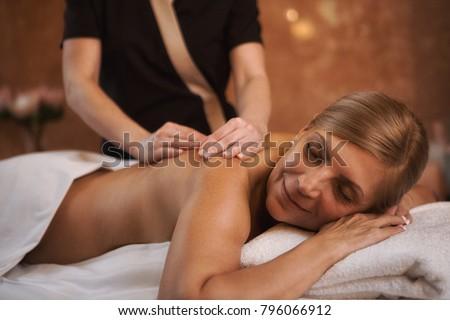 Mature lesbian masseuse
