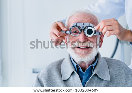 Portrait of a mature man fitting o Zdjęcia stock ©
