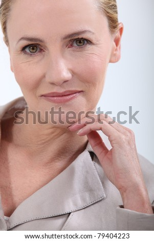 stock photo portrait of a mature woman 79404223 Free Download Different Long Hair For Mature Women Styles. Size: 283.33 KB