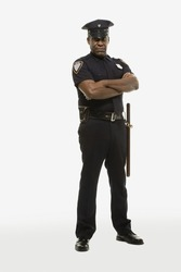 Portrait of a police officer