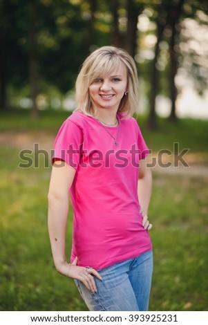 Pretty young teenage girl