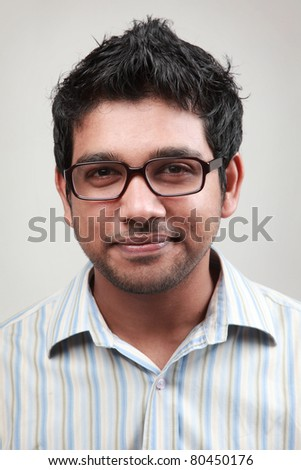 Portrait of a smiling man wearing spectacle