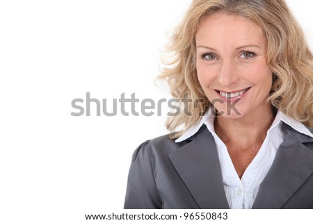 Portrait of a smiling mature woman