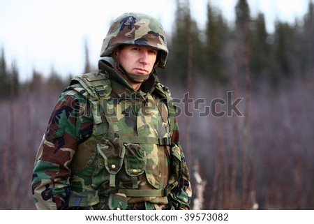 portrait of a soldier