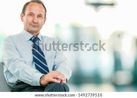 portrait of a successful lawyer - consultant on  light backgrou Сток-фото ©
