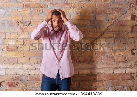d67e7fa2 Portrait of young man in pink shirt Images and Stock Photos - Avopix.com