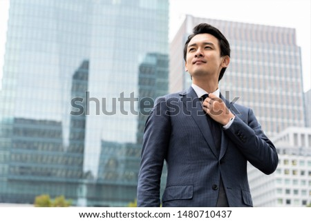 Portrait of a thirty man in suit
