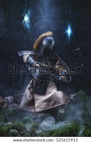 Samurai warriors with swords Images and Stock Photos - Page