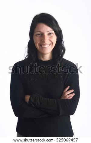 Portrait of a woman Foto stock ©