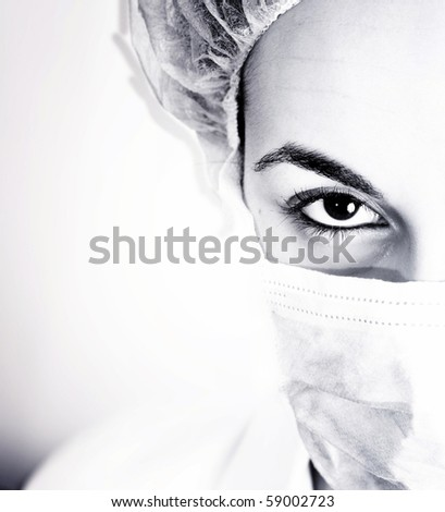 Portrait of a young doctor. More of this series on my portfolio !