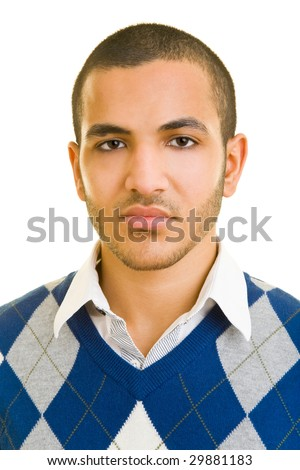 Portrait of a young moroccan
