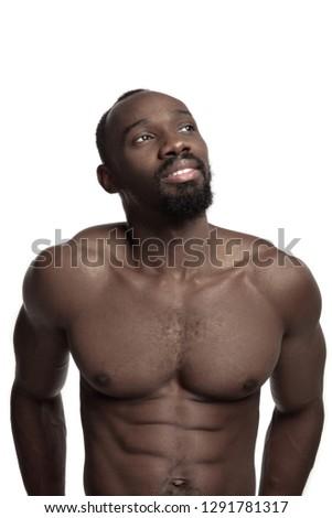 Nude high fashion male models