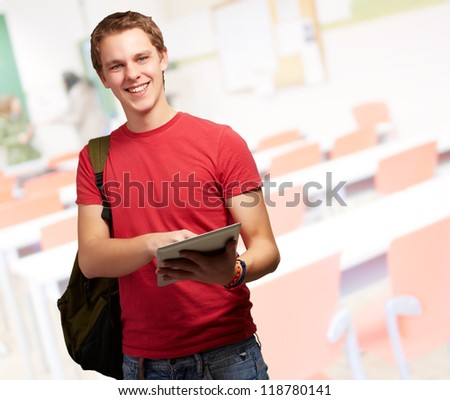 Portrait Of A Young Student, Indoor