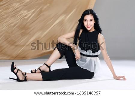 Portrait of a young woman Сток-фото ©