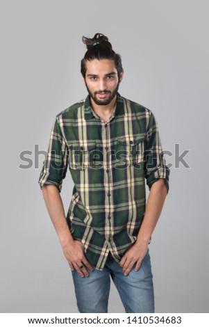Portrait of an Arab expat.