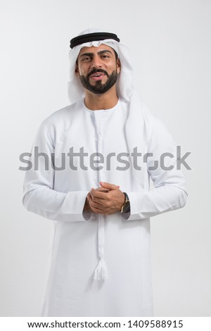 Portrait of an arab man.