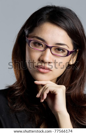 Portrait of an Attractive business woman shot in a studio