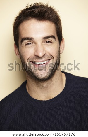 Portrait of an attractive man