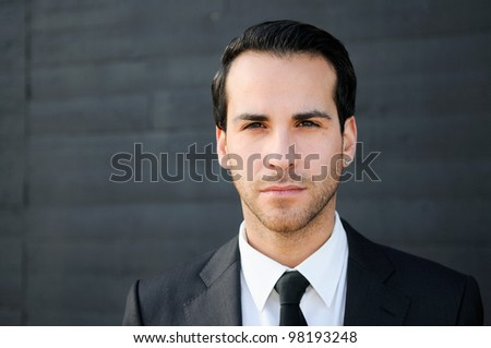 Portrait of an attractive young businessman