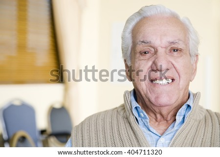 Portrait of an elderly man #404711320