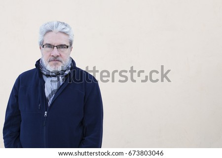 Portrait of an old man #673803046