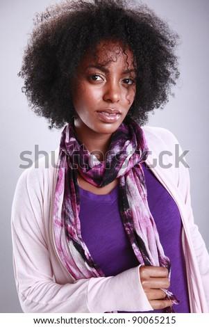 Portrait of an urban African American