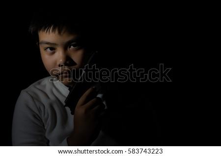 Free photos Young boy with a bb gun  | Avopix com