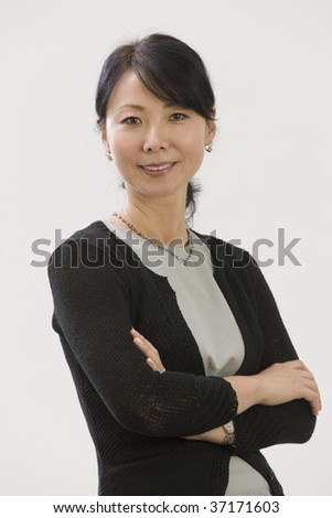 Portrait of Asian woman executive