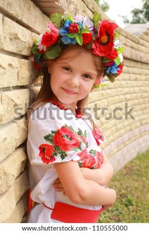 Traditional Ukrainian Clothing   Dark Brown Hairstyles