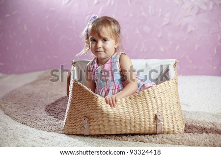 Portrait of beautiful little girl