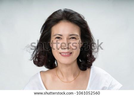 asian faces Mature women