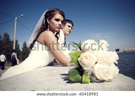 Portrait of Bride and Groom together