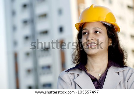 Portrait of construction engineer