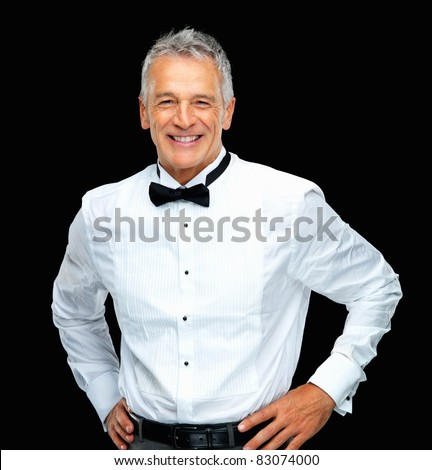 stock photo portrait of elegant mature business man smiling over black background 83074000 All things considered, it would have been easier to secure a Vietnamese sex ...