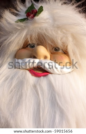 Portrait of  happy smiling Santa Claus