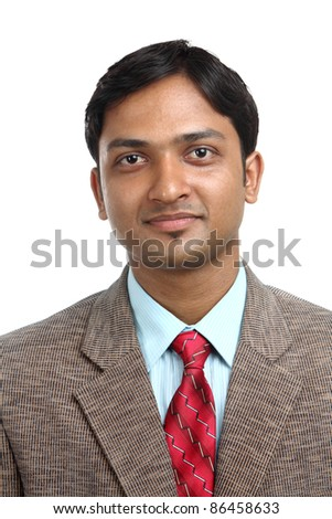 Portrait of Indian business man