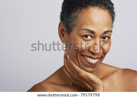 stock photo portrait of mature adult woman is 79579798 Bigoted vandals targeted a gay bar in Fresno, California earlier this week, ...