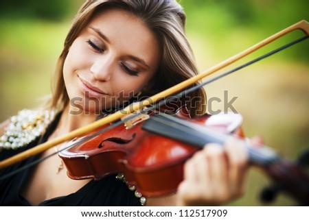 portrait of musician