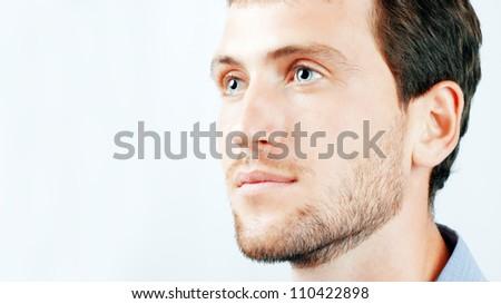 Portrait of nice young men